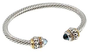 Other Blue Topaz Cable Bangle