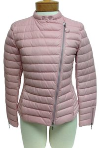 Moncler Pink Leather Jacket