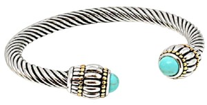 Other Turquoise Cable Bangle