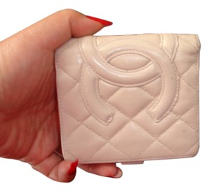 Chanel Authentic Chanel wallet made in France lambskin