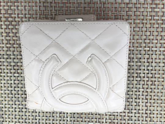 Chanel Cream Cambon Quilted Bifold Wallet Image 1
