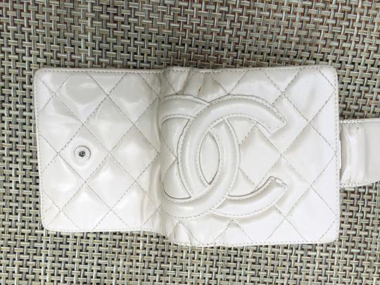Chanel Cream Cambon Quilted Bifold Wallet Image 2