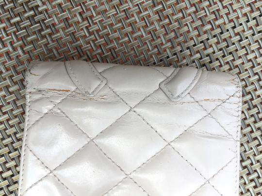 Chanel Cream Cambon Quilted Bifold Wallet Image 3