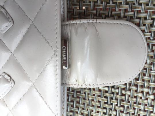 Chanel Cream Cambon Quilted Bifold Wallet Image 4