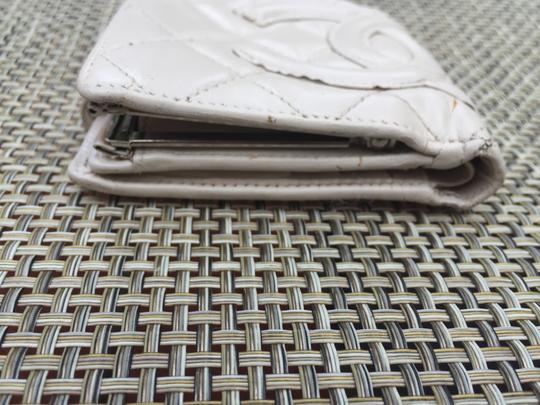 Chanel Cream Cambon Quilted Bifold Wallet Image 6