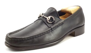 Gucci Men's Leather Horse Bit Loafers