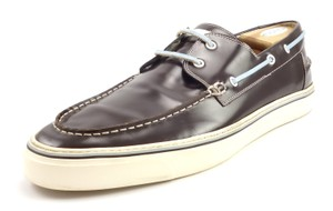 Gucci Men's Leather Boat Deck Shoes