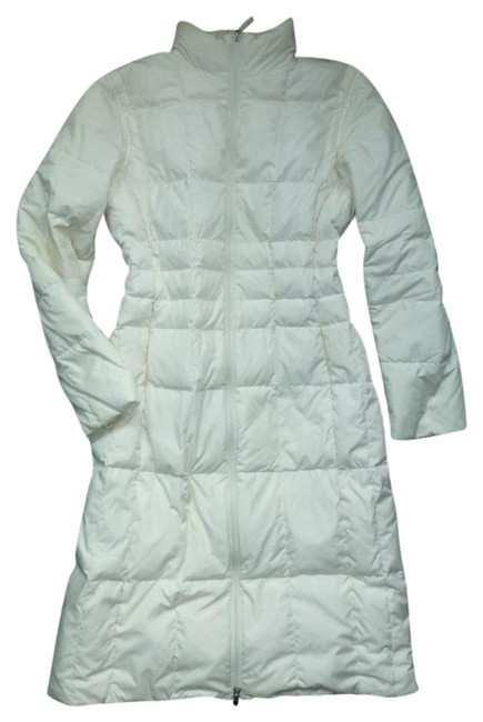 Item - Ivory Goose Down Quilted Reversible M 10-12 Puffer Coat Size 10 (M)