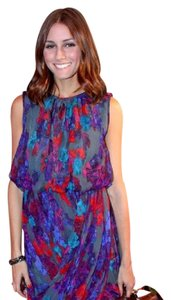 Tibi short dress Blue Neiman Marcus Saks Celebrity Closets Barneys on Tradesy