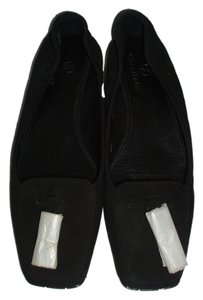 Cole Haan Suede Loafers Black Flats