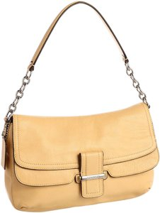 Coach Madison Yellow Shoulder Bag