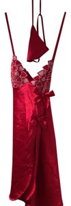 Frederick's of Hollywood Valentine heart Chemise 1022F