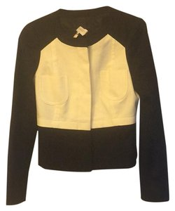 Laundry by Shelli Segal Black and White Jacket