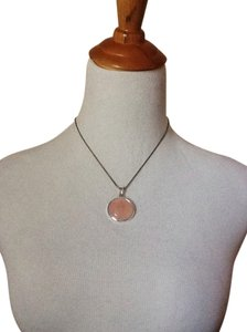 Express Express Pink Pendant Necklace