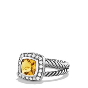 David Yurman Petite Albion Citrine and Diamonds