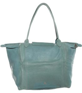 Longchamp Tote in Turquise