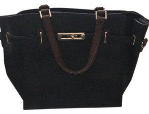 Satchel in black
