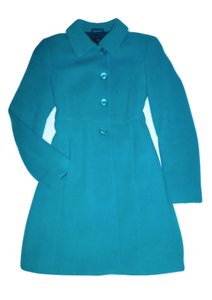 Sisley Of Benetton Virgin Wool Cashmere Pea Coat