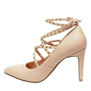 Betseyville Blush Pumps