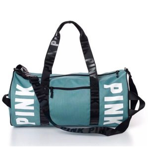 Victoria's Secret Niagara Falls Blue Green Travel Bag