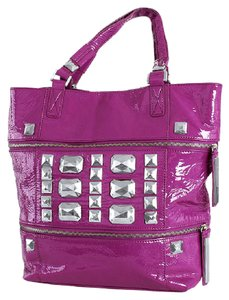 Etienne Aigner Etienne Collection Etienne Privee New With Tags Jewels Collection New Tote in Magenta