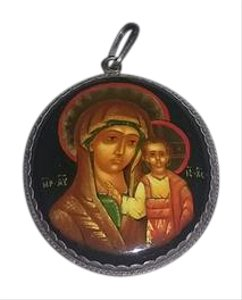 Russian Icon Pendant