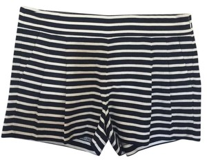 J.Crew Mini/Short Shorts Navy Stripe