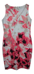 Calvin Klein short dress Pink Multi on Tradesy