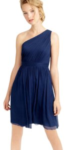 J.Crew One Wedding Bridesmaid Silk Chiffon Dress