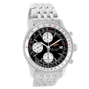 Breitling Breitling Navitimer II Stainless Steel Black Dial Mens Watch A13322