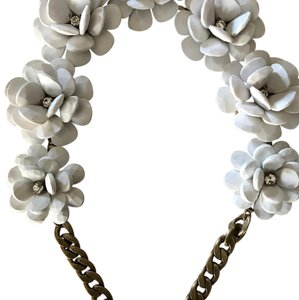 J.Crew Jcrew flower necklace