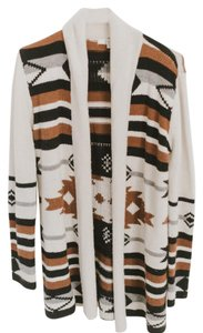 BB Dakota Aztec Kimono Duster Bb Sweater Bohemian Cardigan