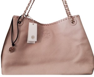 Tory Burch Satchel in Nude/pink/Beige