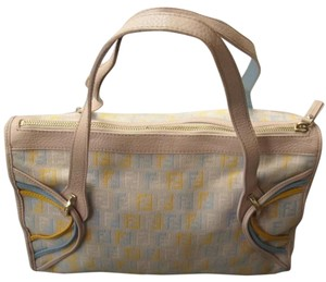 Fendi Satchel in beige Multicolor