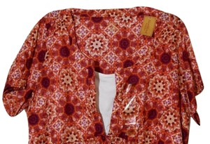Northcrest Floral Print Large Top Plumb