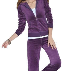 Juicy Couture Relaxed Pants purple/Aubergine