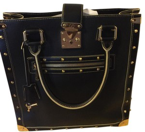 Louis Vuitton Satchel in black and gold