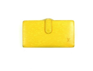 Louis Vuitton Epi Coated Leather Continental Clutch Long Bifold Wallet