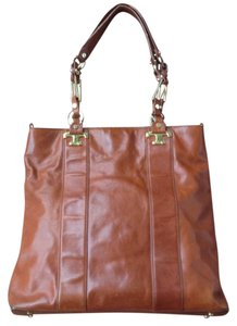 Tory Burch Tote in cognac brown