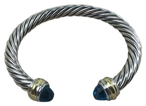 David Yurman 7mm Cable classic 18k & silver Cable classic