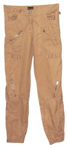 Wet Seal Punk Cargo Pants Tan