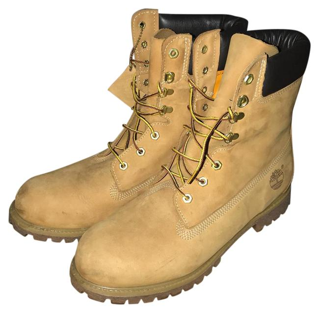 Wheat 8inch Boots/Booties Size US 10.5 Regular (M, B) Wheat 8inch Boots/Booties Size US 10.5 Regular (M, B) Image 1