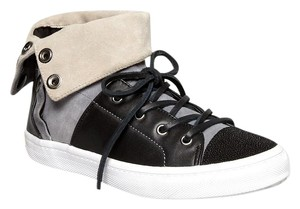 Rebecca Minkoff Spencer Size 8 Hightop Grey/ Black Athletic