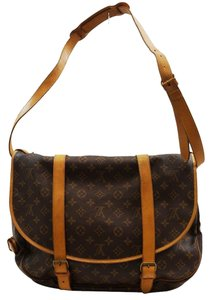 Louis Vuitton Lv Saumur 43 Xl Monogram Handbag Shoulder Bag