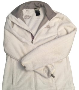 The North Face white & gray Jacket