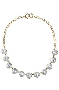 Stella & Dot Somervell Necklace Clear Crystal
