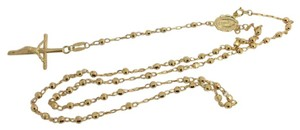 Other 14K Yellow Gold Rosary Necklace