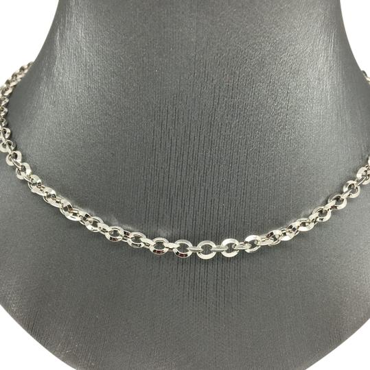 Preload https://img-static.tradesy.com/item/20555048/18k-white-gold-cable-chain-necklace-0-1-540-540.jpg