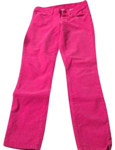 J.Crew Matchstick Matchstick Cords Hot Skinny Pants Pink
