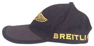 Breitling brietling baseball trucker cap yellow emblem